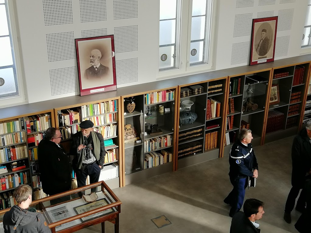 inauguration des archives